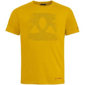 VAUDE Gleann T-Shirt Men, geel